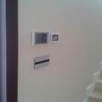 Видеодомофон, клавиатура на алармена система, сензорни бутони с алуминиева декоративна рамка
