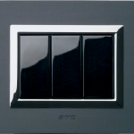 Life Touch series with Vera front plate - anthracite brushed aluminium