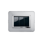 Life Touch series with Zama front plate - natual aluminium