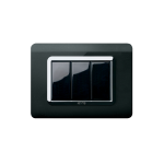 Life Touch series with front plate - moulded absolute black