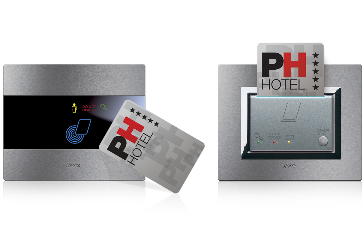 Lettori-card-AVE-Domotica-Hotel