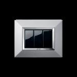 Серия Life Touch с декоративна рамка Zama - естествен алуминий