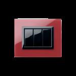 Серия Life Touch с декоративна рамка Vera - червено Помпей
