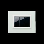 Серия Life Touch с декоративна рамка Vera - прозрачен нефрит