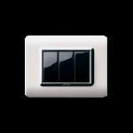 Серия Life Touch с PVC рамка - естествен алуминий