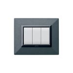 Domus series with personal front plate - Zama Graphite