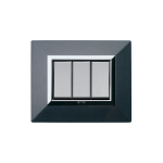 ALLUMIA series with front plate Zama - metallic dark grey