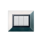 Domus series with personal front plate - Zama brushed nickel