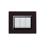 Domus series with personal front plate - Wenge