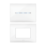 Декоратвна рамка YOUNG - бяло