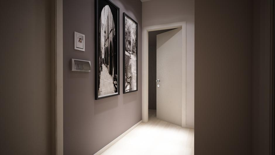 Hallway Home Automation Ave Domina Plus
